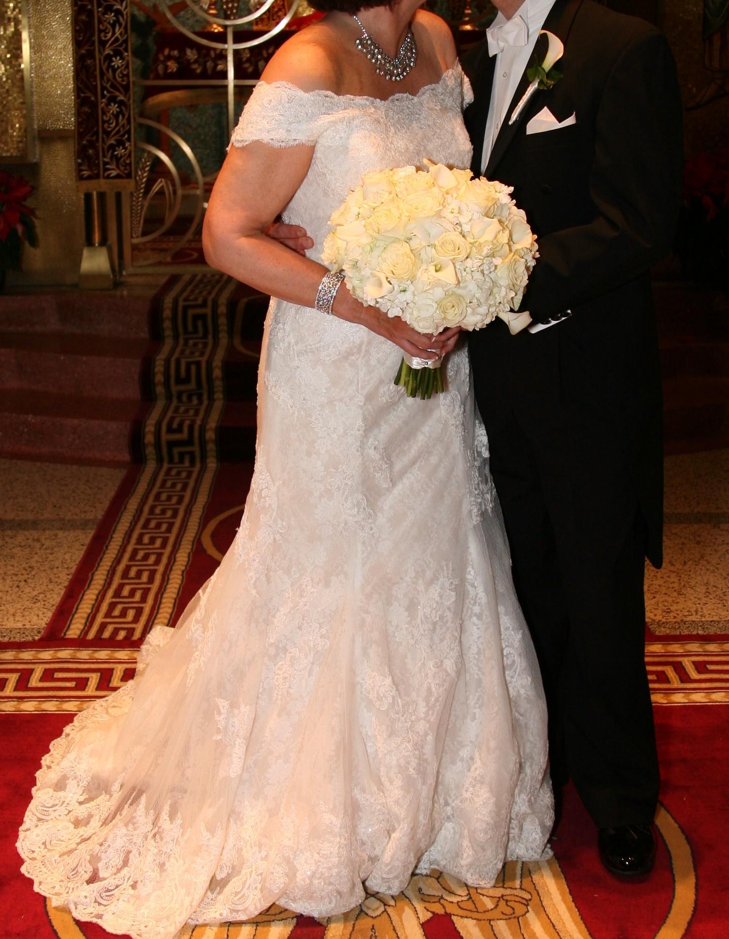 Oleg cassini cwg533 wedding dress on sale 57 off for Wedding dress cleaning atlanta