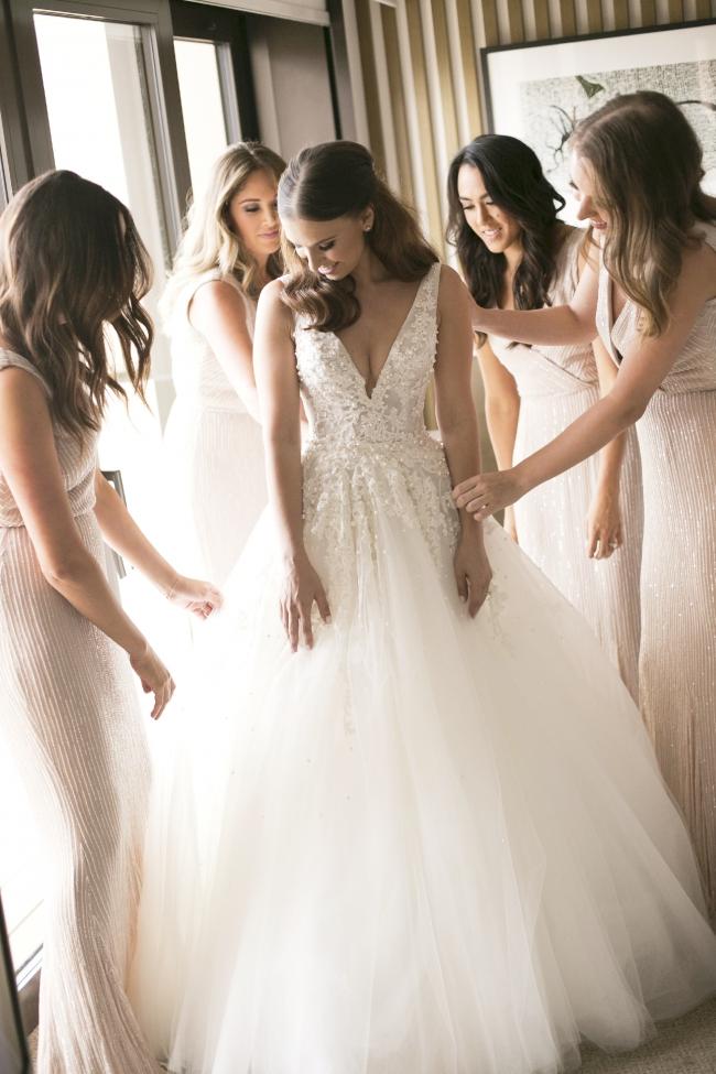 Steven Khalil Custom Made Two Piece - Used Wedding Dresses - Stillwhite