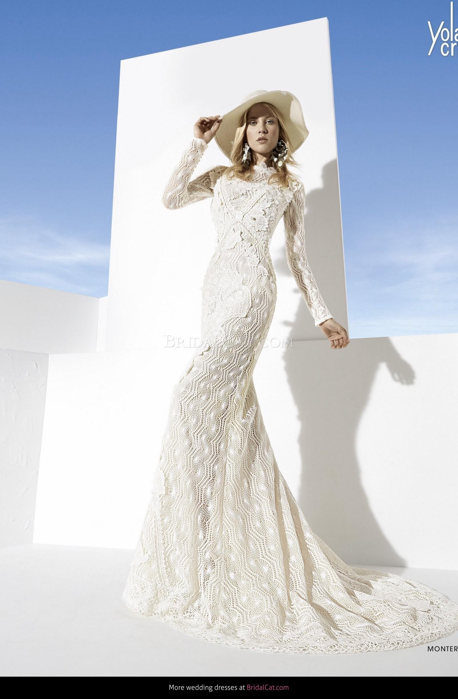 free unique vine wedding dresses samples