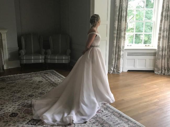 Cheap Wedding Gowns Toronto: Aire Barcelona Cedra Second Hand Wedding Dress On Sale 66