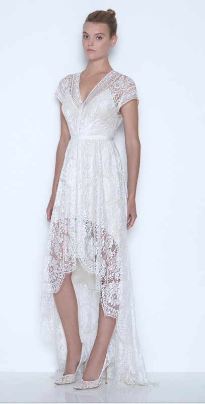 Lover the label white lace dress