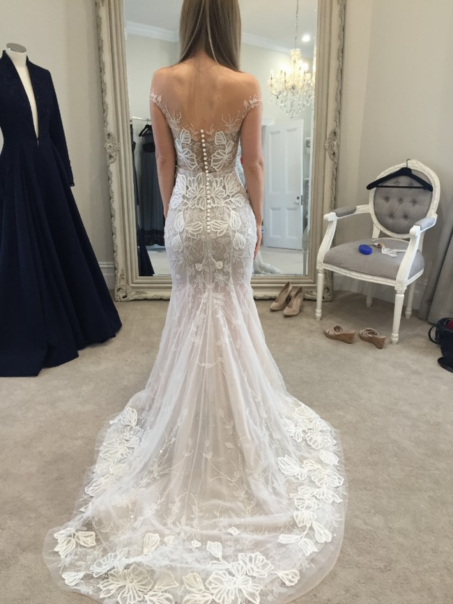 Paolo Sebastian Custom Made Pre-Owned Wedding Dress on ...
