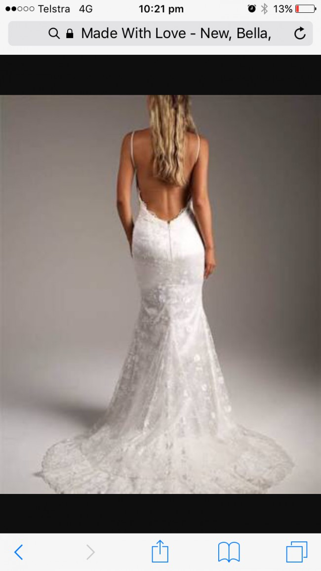 Made with love bella new wedding dresses stillwhite for Made with love wedding dresses