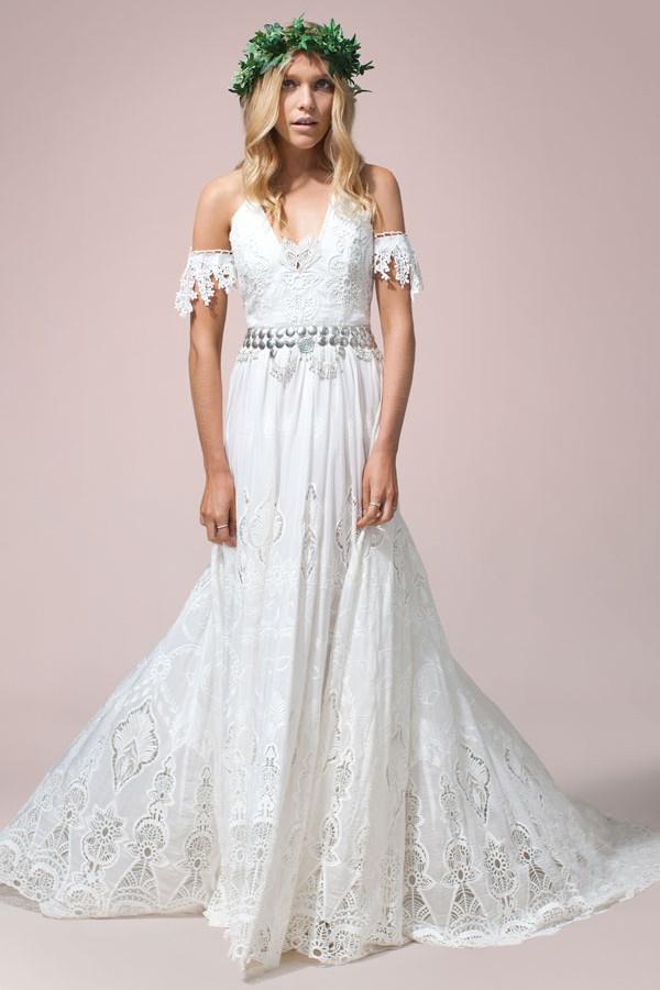 Rue De Seine Zara Preowned Wedding Dress On Sale 62 Off