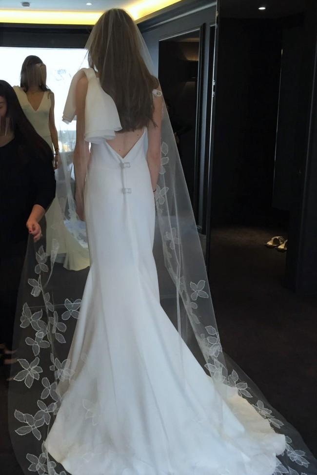 Vera Wang Micaela New Wedding Dress on Sale 43% Off