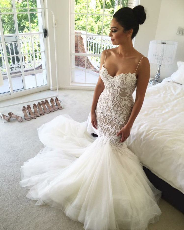 Second Hand Wedding Dresses: Leah Da Gloria Second Hand Wedding Dress On Sale 33% Off