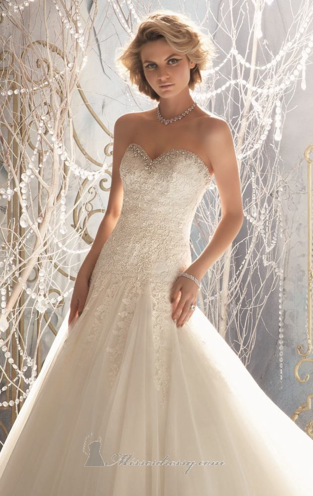 Mori lee 1964 wedding dress on sale for Mori lee wedding dress sale