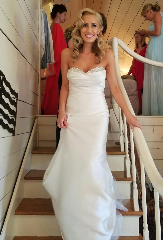 Jenny Yoo Remi, Style #1470B Used Wedding Dress on Sale 44% Off