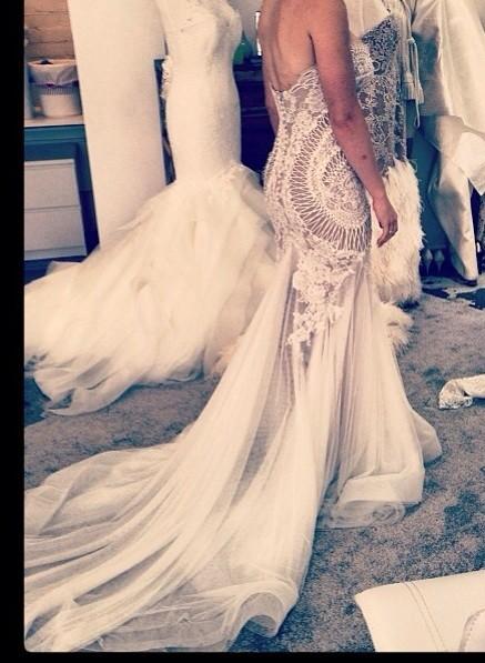 Leah Da Gloria Couture J\'aton inspired Used Wedding Dress on Sale ...