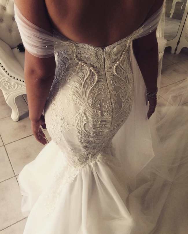 George elsissa custom made second hand wedding dresses stillwhite george elsissa custom made junglespirit Images