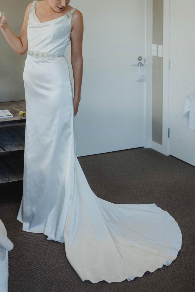 Jean Fox Only you Used Wedding Dress on Sale 68% Off