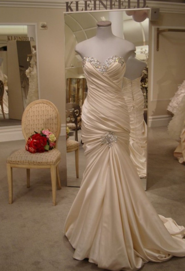 Pnina tornai pre owned wedding dress on sale 73 off for Kleinfeld wedding dresses sale