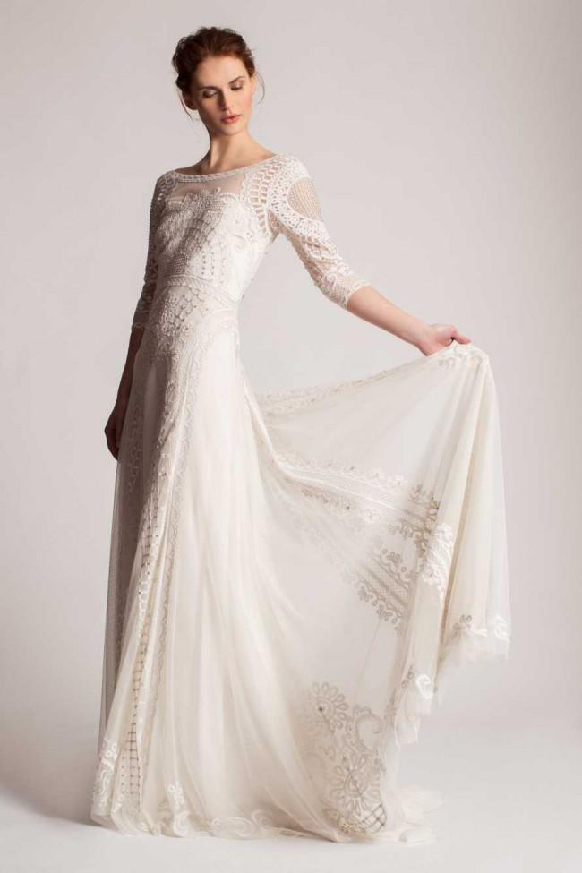 Fantastic temperley wedding gowns vignette top wedding for Temperley wedding dress sample sale