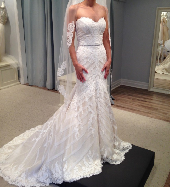 Matthew Christopher Sofia Wedding Dress On 59 Off