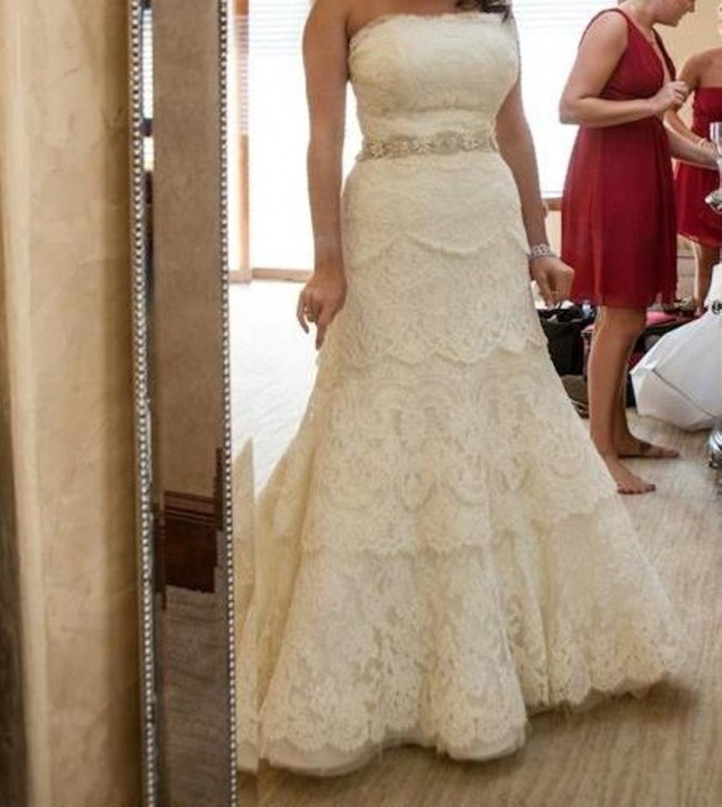 Rivini Dari Used Wedding Dress on Sale 73% Off - Stillwhite