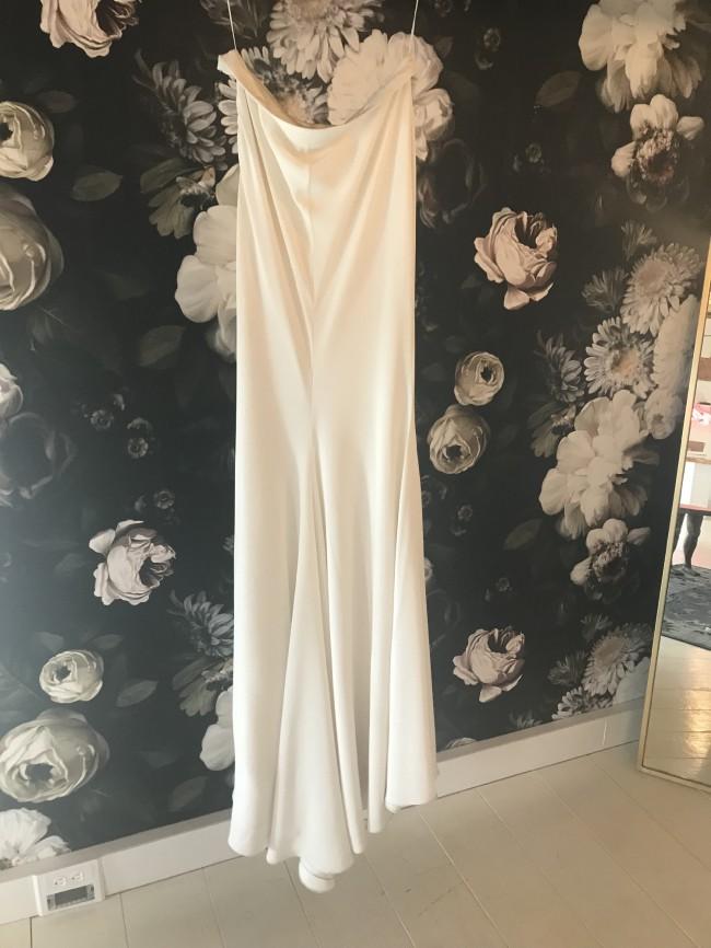 Houghton NYC Chloe Top and Iman Skirt Sample Wedding Dress on Sale ...