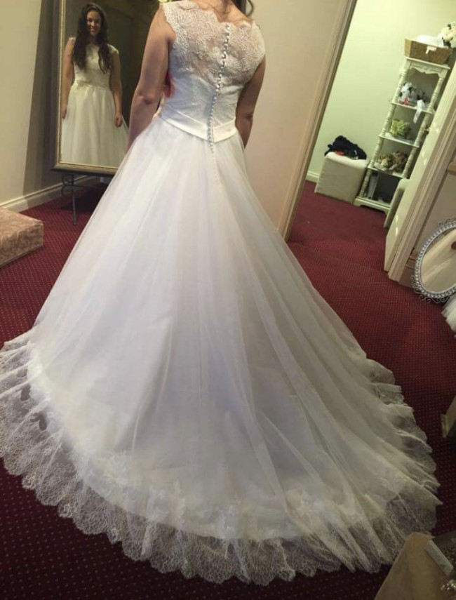 Morilee 2607 second hand wedding dress on sale 69 off for Second hand mori lee wedding dresses