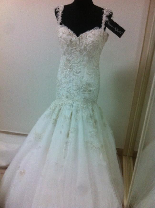 Steven khalil second hand wedding dress on sale 65 off for Steven khalil wedding dresses cost