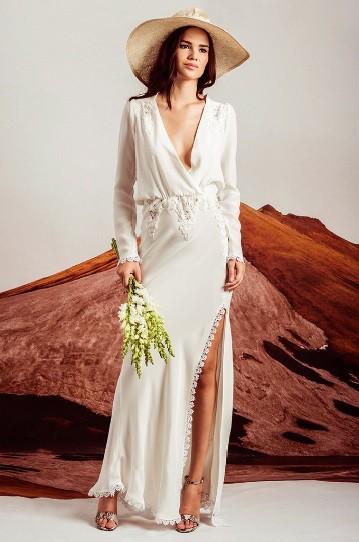 Stone Cold Fox Bianca New Wedding Dress on Sale 42% Off