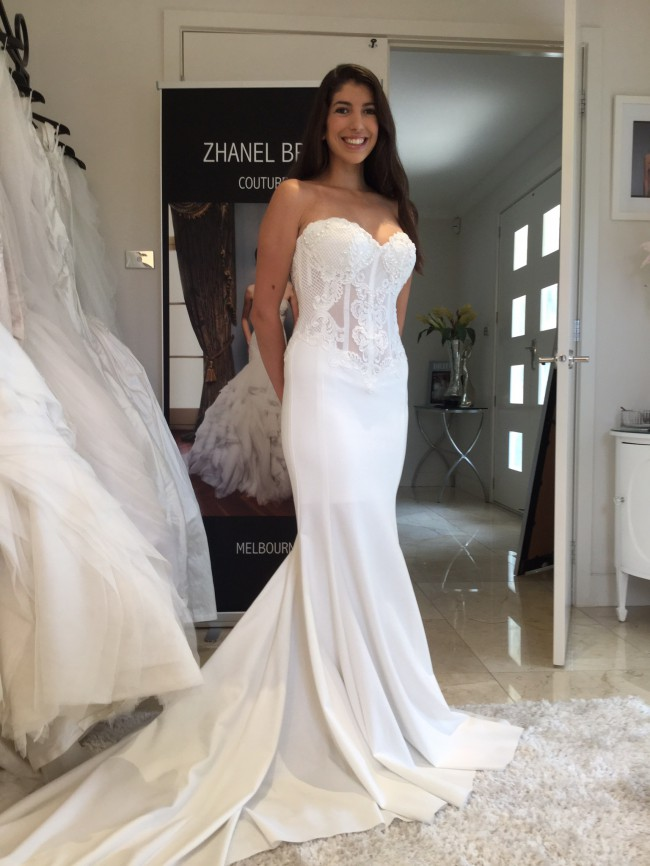 Zhanel bridal couture ready to wear new wedding dress on for Ready to wear wedding dresses online
