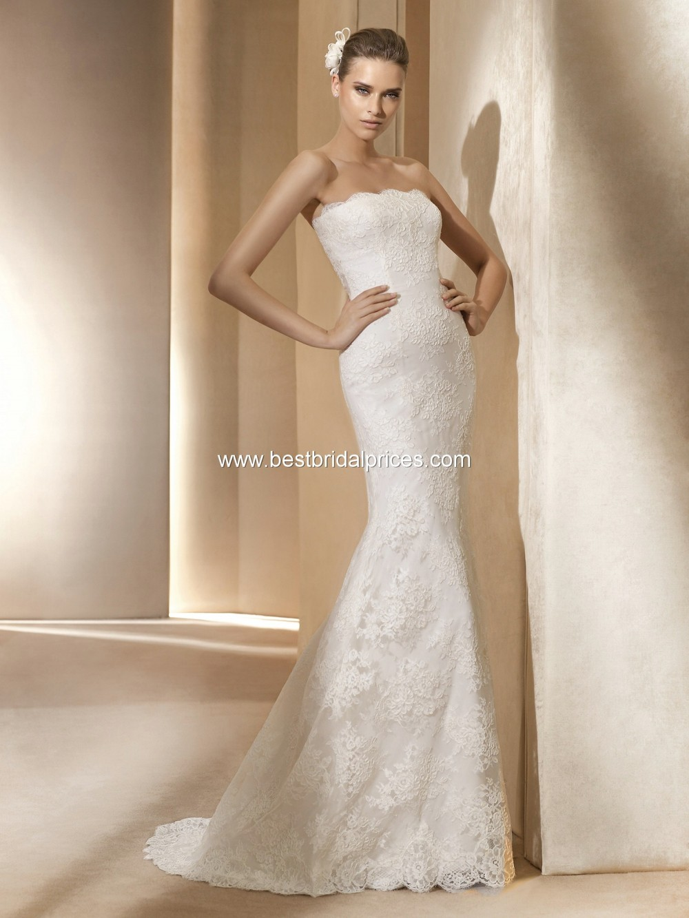 Pronovias adonis second hand wedding dress on sale 35 off for Second hand wedding dresses for sale