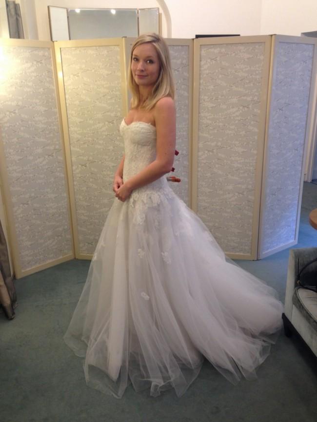 Monique Lhuillier Jade Wedding Dress On Sale 69 Off