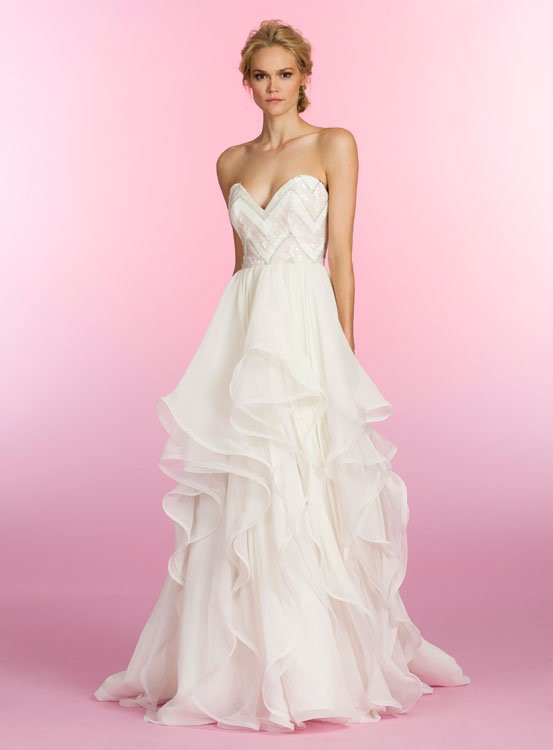 Hayley Paige STYLE 6508 CHARLIE Used Wedding Dress On Sale 73 Off - Used Hayley Paige Wedding Dress