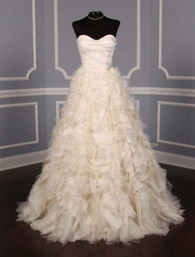 Monique Lhuillier Waltz X Sample Wedding Dress on Sale 80% Off ...