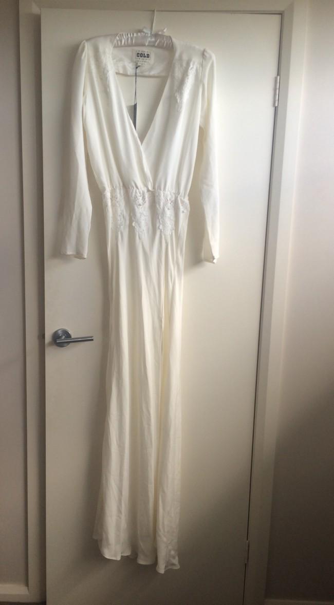 Sheath Wedding Dress on Sale