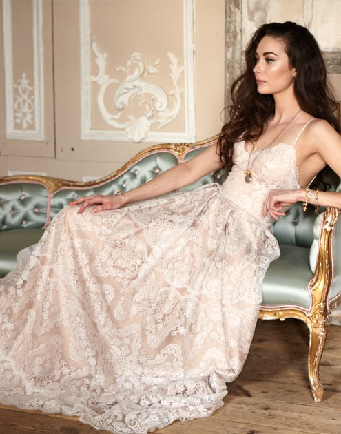 Catherine Deane Helena Sample Wedding Dress on Sale 60% Off