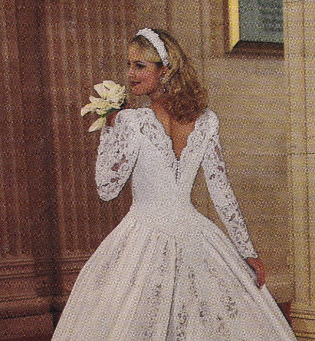 Mary's Bridal Couture Ball Gown With 12 Foot Train