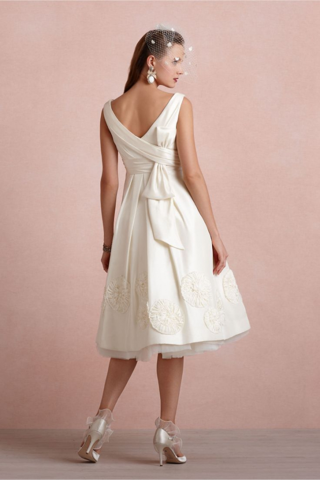 BHLDN Pinwheel Tea Dress