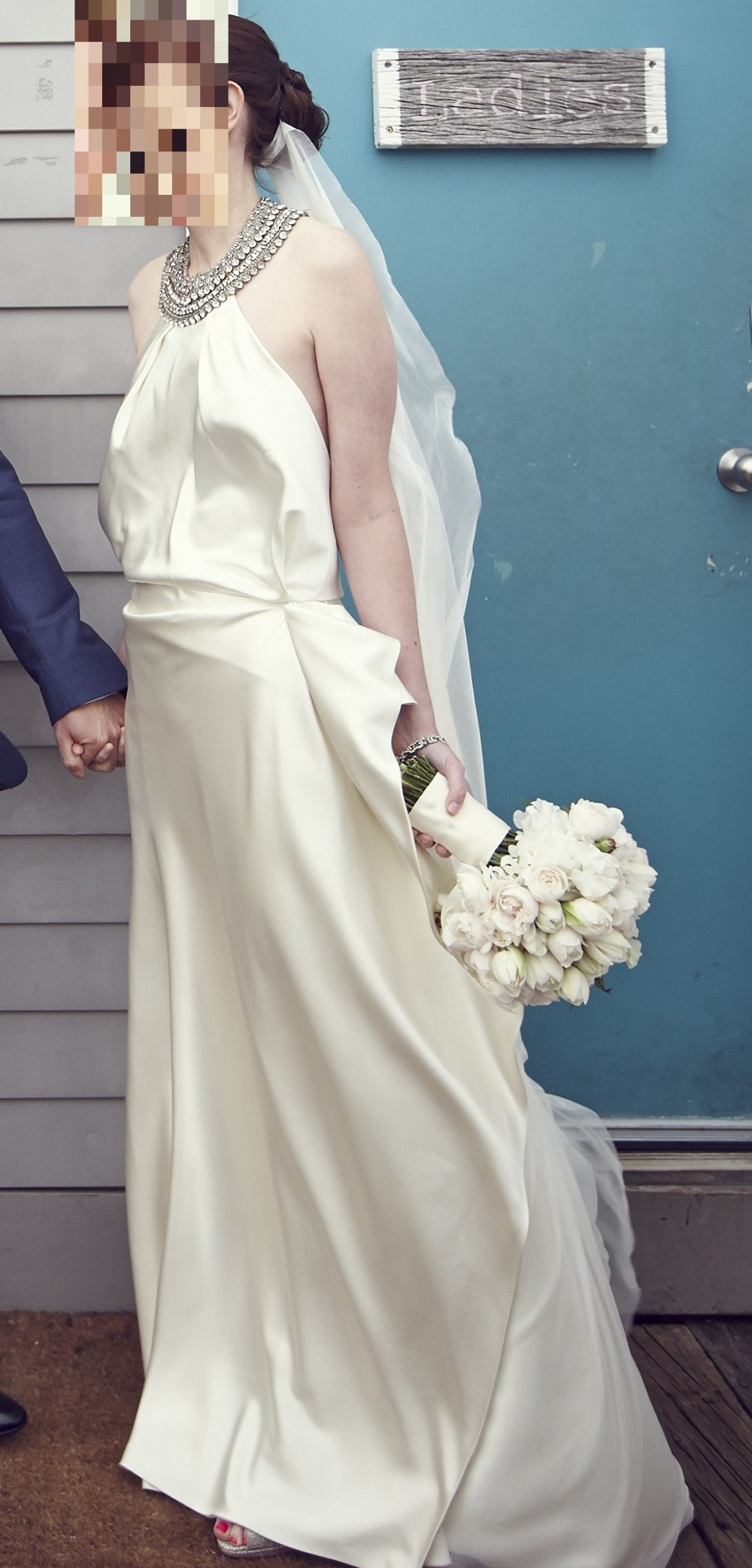 Johanna Johnson The Beaumont Pre-Owned Wedding Dress on Sale 50% Off