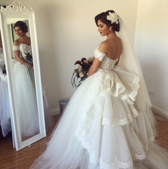 suzanna blazevic custom made second hand wedding dress on sale