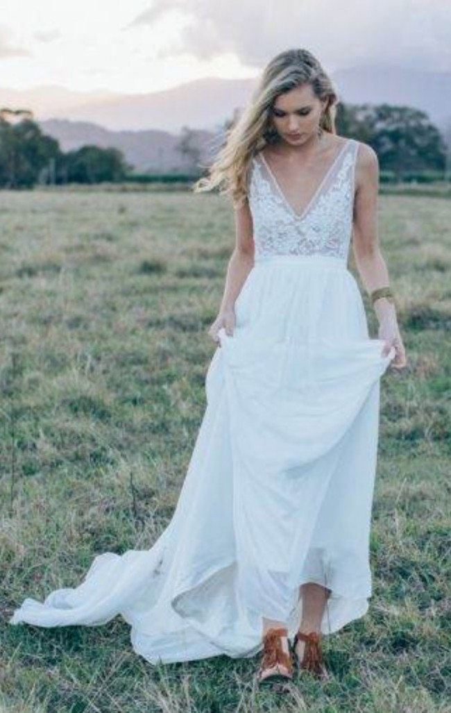 Made with love sophie used wedding dress on sale 32 off for Made with love wedding dresses