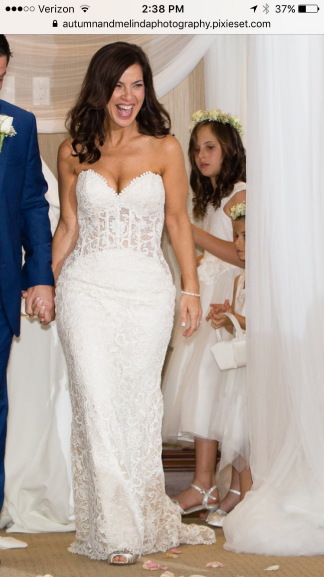 Randy fenoli olivia pre owned wedding dress on sale 68 off for Previously worn wedding dresses for sale