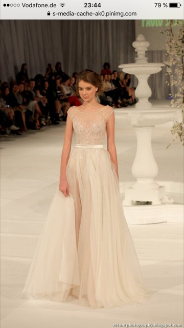 Paolo Sebastian Swan Lake Wedding Dress On Sale 30 Off