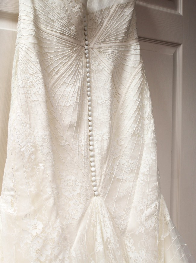 Truly Zac Posen Geometric Corded Wedding Dress Used Wedding Dress on ...