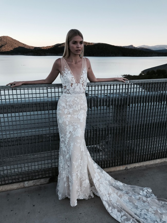 Made with love stevie sample wedding dress on sale 20 off for Made with love wedding dresses