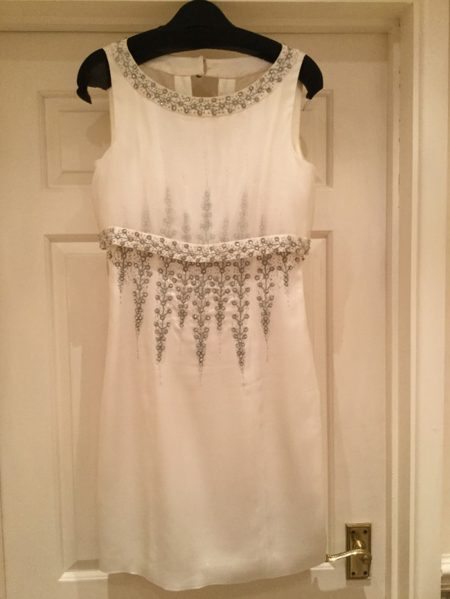 Temperley london arailia backless preowned wedding dress for Temperley london wedding dress sale