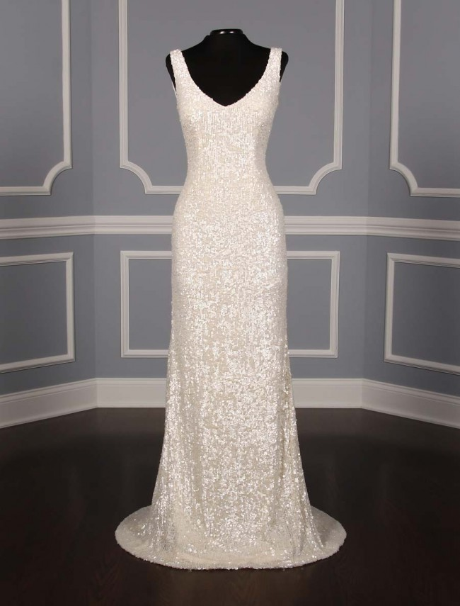 Theia Harlow New Wedding Dress on Sale 47% Off