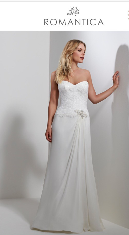 Romantica Of Devon Ariana Used Wedding Dress On Sale 58 Off