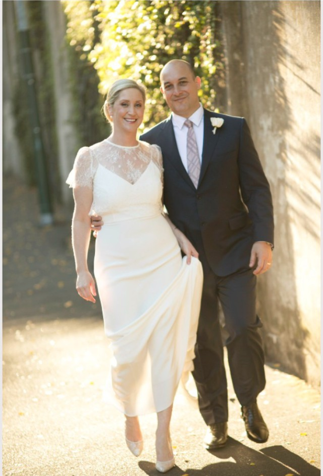 Alexandra Grecco Lewis Gown And Lula Lace Blouse Second Hand Wedding