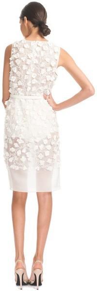 Giambattista valli ss heavy organza embroidered dress new for Giambattista valli wedding dress price