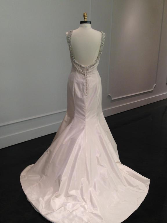Ines Di Santo Aubergine Wedding Dress On Sale 70 Off