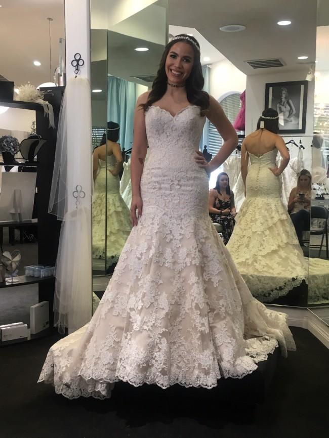 Allure Bridals 9215 New Wedding Dress on Sale 33% Off