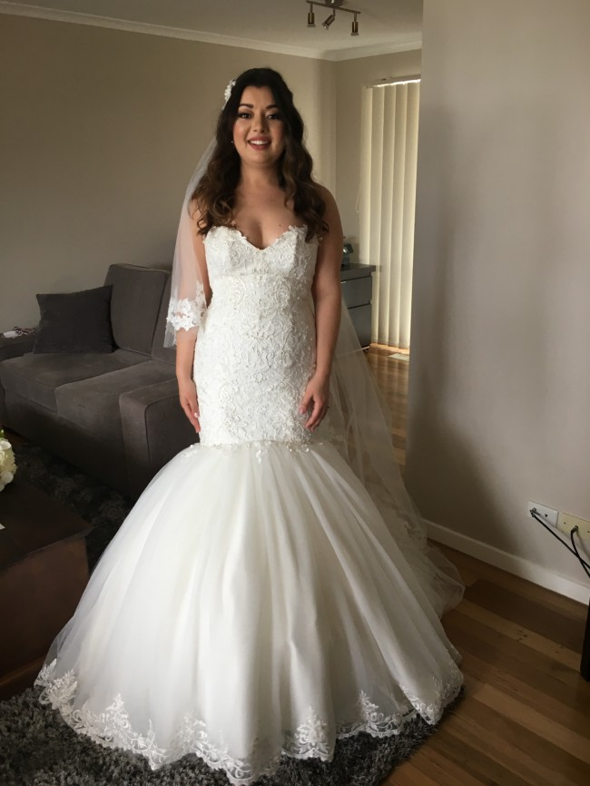 Maggie Sottero Lansing Wedding Dress on Sale 79% Off