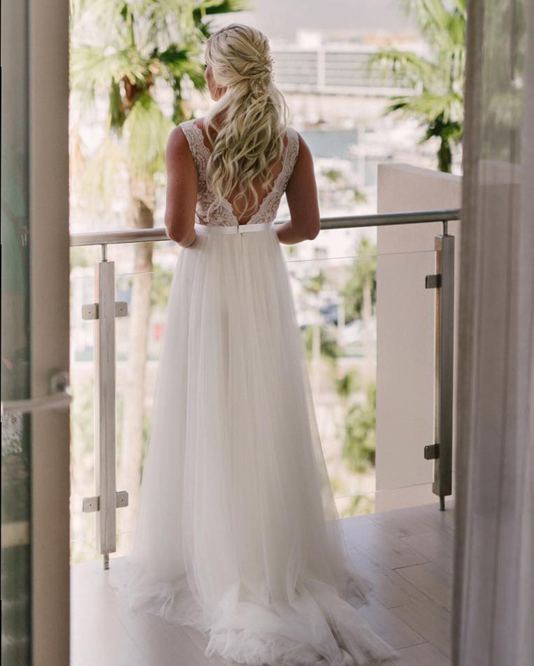 Watters santina gown style 6089b second hand wedding dress for Second hand wedding dresses san diego