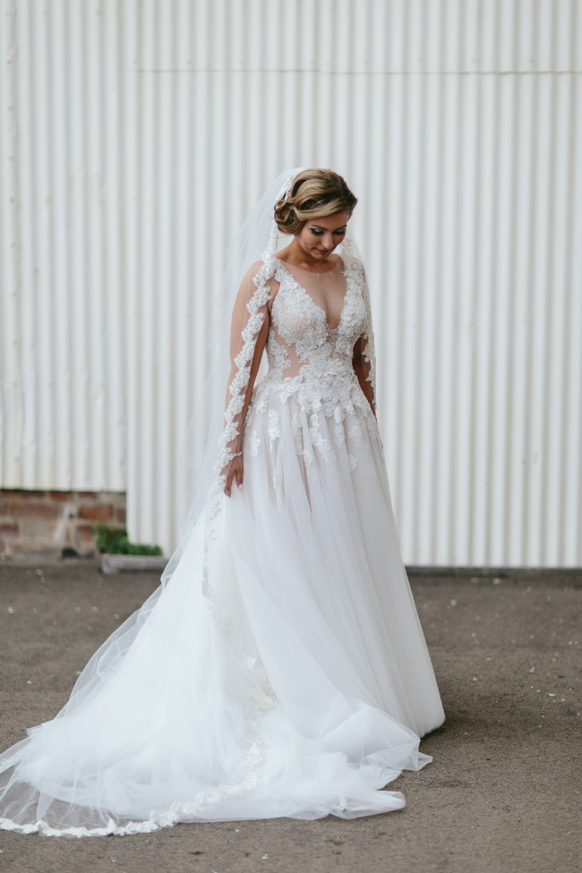 Pallas couture melacine gown second hand wedding dresses for 2nd hand wedding dress