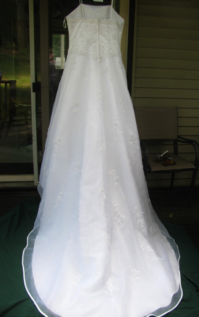 A Line New Wedding Dress On Sale 90 Off